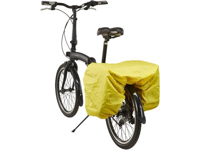 Red Cycling Products Regntrekk til dobbelveske yellow